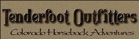 Tenderfoot Outfitters Colorado Horesback Adventures